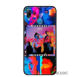 5SOS Huawei Soft TPU Case #12