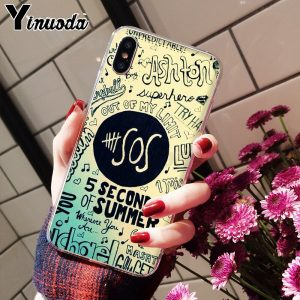 5SOS Soft TPU iPhone Case #1