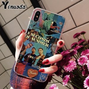 5SOS Soft TPU iPhone Case #9