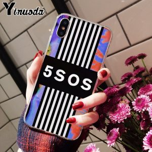 5SOS Soft TPU iPhone Case #11