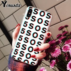 5SOS Soft TPU iPhone Case #12