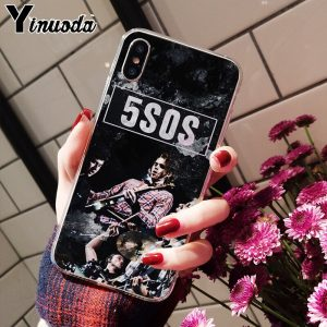 5SOS Soft TPU iPhone Case #4