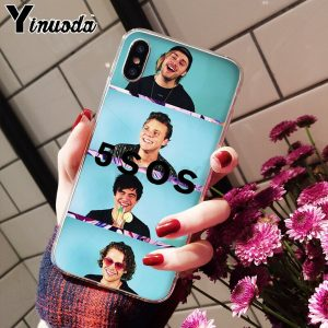5SOS Soft TPU iPhone Case #5