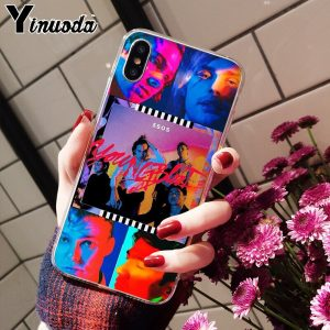 5SOS Soft TPU iPhone Case #6