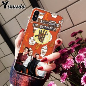 5SOS Soft TPU iPhone Case #7