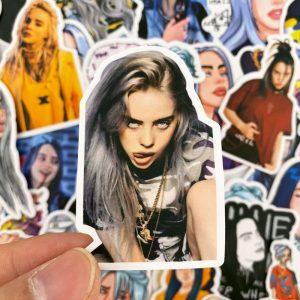 Billie Eilish Stickers – 50pcs