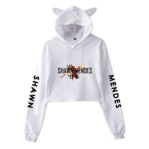 Shawn Mendes Cropped Hoodie #1