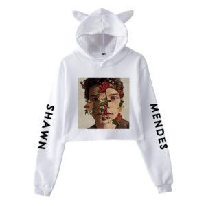 Shawn Mendes Cropped Hoodie #2