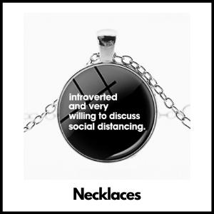 the coronavirus necklaces