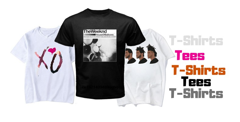 the weeknd t-shirts