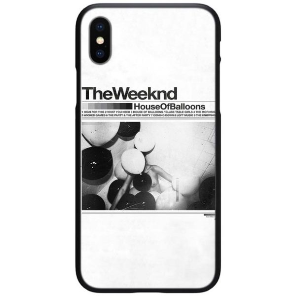 the weeknd iphone case