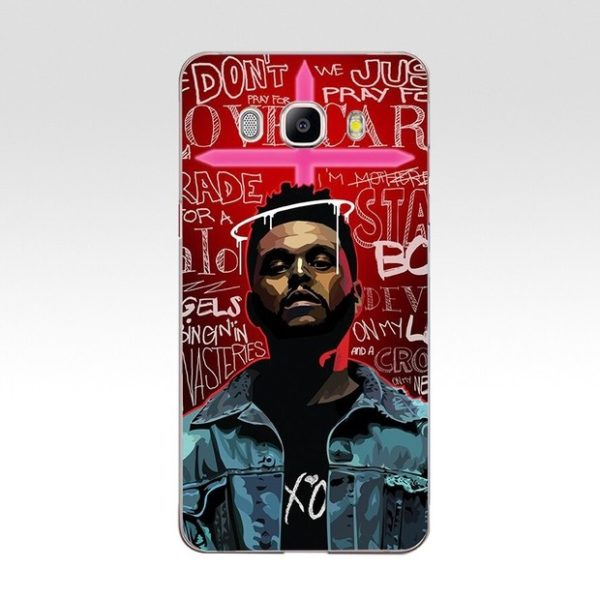 the weeknd samsung case