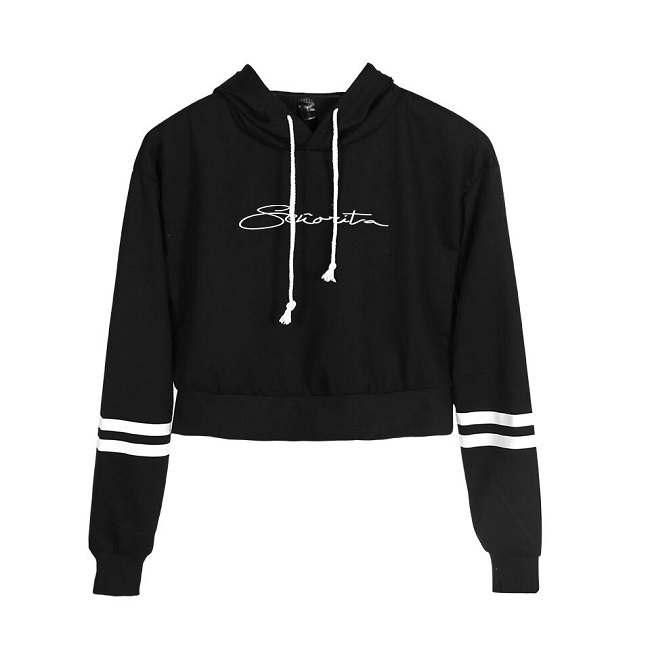 shawn mendes cropped hoodies