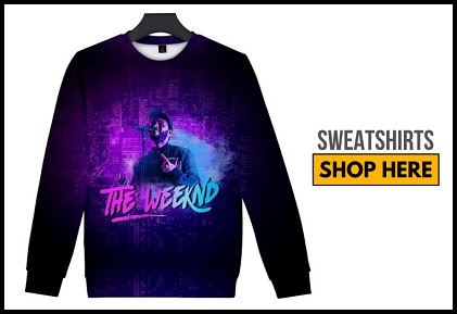 weeknd sweatshirts