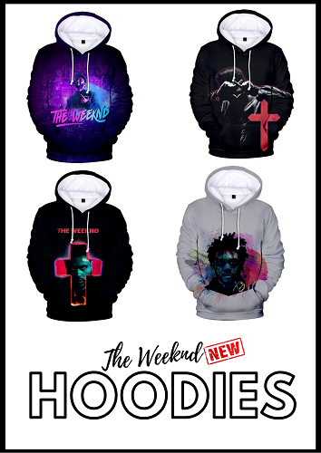 the weeknd hoodies