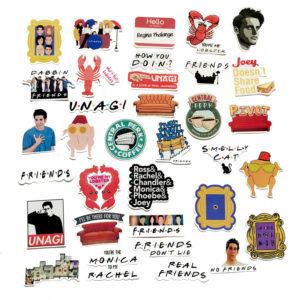 Tv Friends Stickers