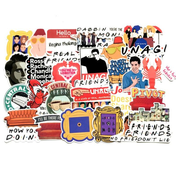 tv friends stickers