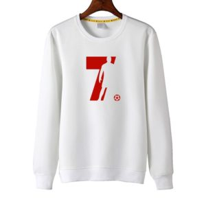 CR7 Sweatshirt White and Red