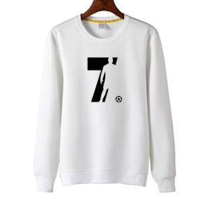 CR7 Sweatshirt White and Black