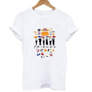 Tv Friends T-Shirts for Women