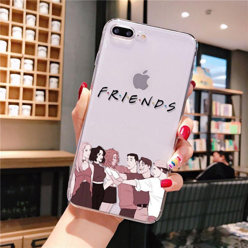 tv friends iphone case