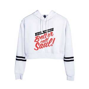 Better Call Saul Cropped Hoodie #3